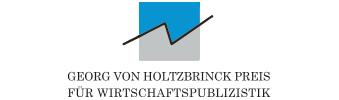 Georg von Holtzbrinck-Preis für Wirtschaftspublizistik